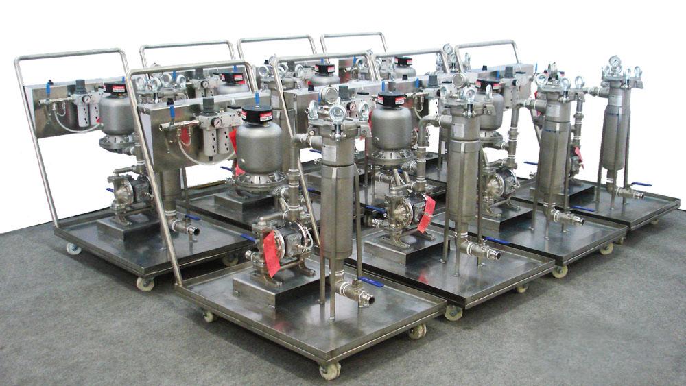 Насосно-фильтровальные установки GBN-2/FB-8/AS