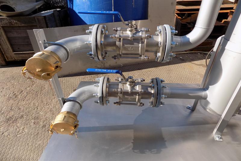 Насосно-фильтровальная группа (НФГ) из нержавеющей стали